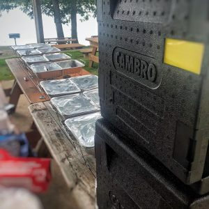 cambro gobox with BBQ